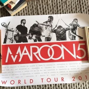 Other - Maroon 5 2015 Tour Poster